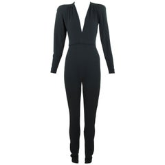 Stella McCartney Black Long Sleeve Jumpsuit -IT 40