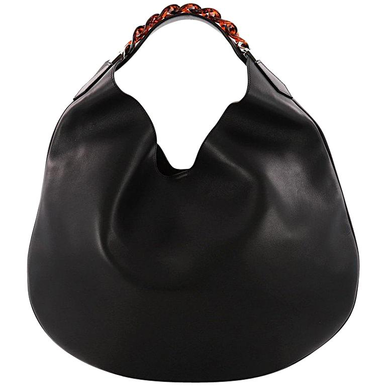 274d29de8e Givenchy Infinity Hobo Leather Small For Sale at 1stdibs