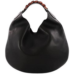 Givenchy Infinity Hobo Leather Small