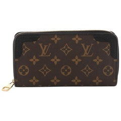 Louis Vuitton Retiro Zippy Wallet Monogram Canvas