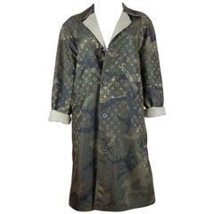 Supreme for Louis Vuitton Reversible Camouflage Trench Coat, AW17