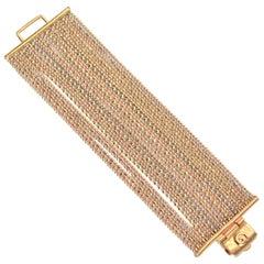 Goossens Paris Gold Multi Chain Bracelet