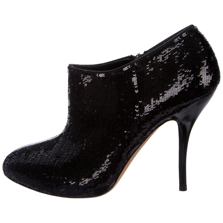 872fe77493c New Gucci Sequin Evening Boots Booties Heels Sz 38