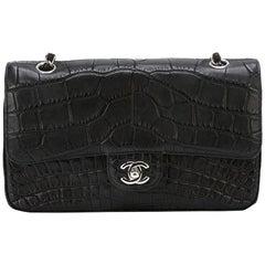 Chanel Black Crocodile 2.55 Shoulder Bag