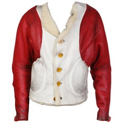 Vivienne Westwood World's End Shearling Jacket, circa 1980s / 1990s