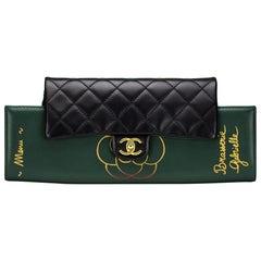 Rare 2015 Runway Brasserie Chanel Calfskin Gabrielle Shoulder Flap Bag & Clutch