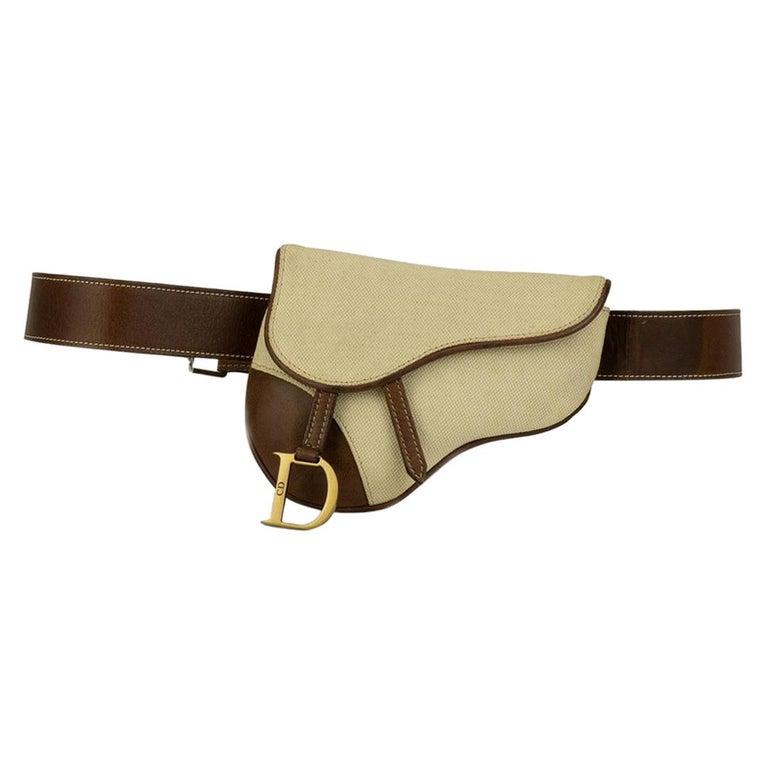 Christian Dior Vintage Belt Saddle Bag Bum Bag Waist Fanny Pack at 1stdibs 99b81d0e30e97