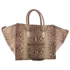 Celine Phantom Handbag Python Large