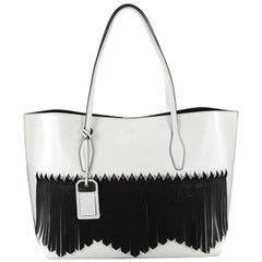 Tod's Fringe Joy Tote Leather Large