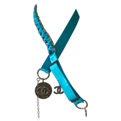 Chanel Satin Chain Belt