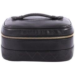 Chanel Vintage Cosmetic Case Lambskin