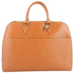 Louis Vuitton Sarbonne Briefcase Epi Leather