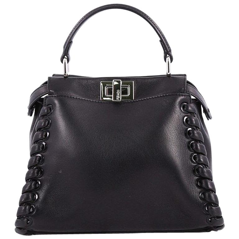 db5b24aec4 ... switzerland fendi peekaboo handbag whipstitch leather mini for sale  2d3c5 5c8c1