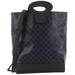 Louis Vuitton North South Tote Damier Cobalt