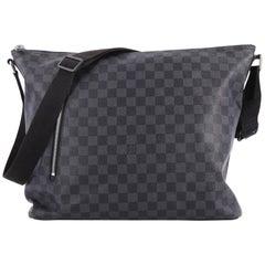 Louis Vuitton Mick Handbag Damier Graphite GM