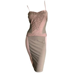 "Christian Dior by John Galliano ""Dior Nude"" Collection Spring 2006 Slip Dress"