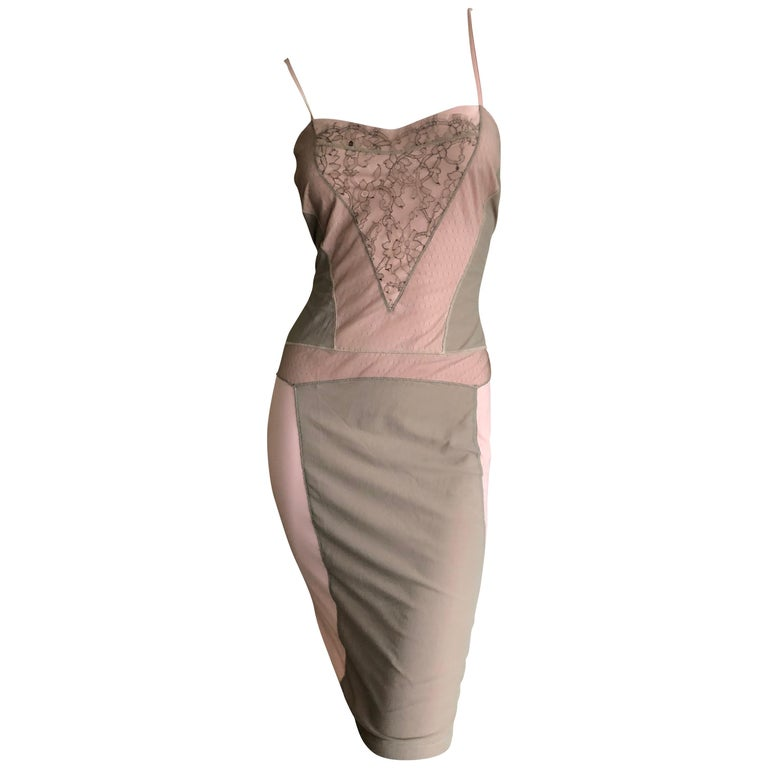 """Christian Dior by John Galliano """"Dior Nude"""" Collection Spring 2006 Slip Dress"""