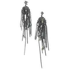 CHANEL Dangle Earrings 'Métiers d'Art Paris Venise' 2009