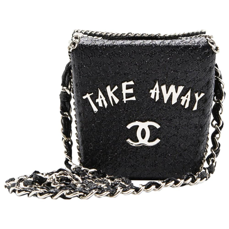 f13284b9e71f Chanel Limited Edition Runway Shanghai Collection Take Away Box Bag at  1stdibs