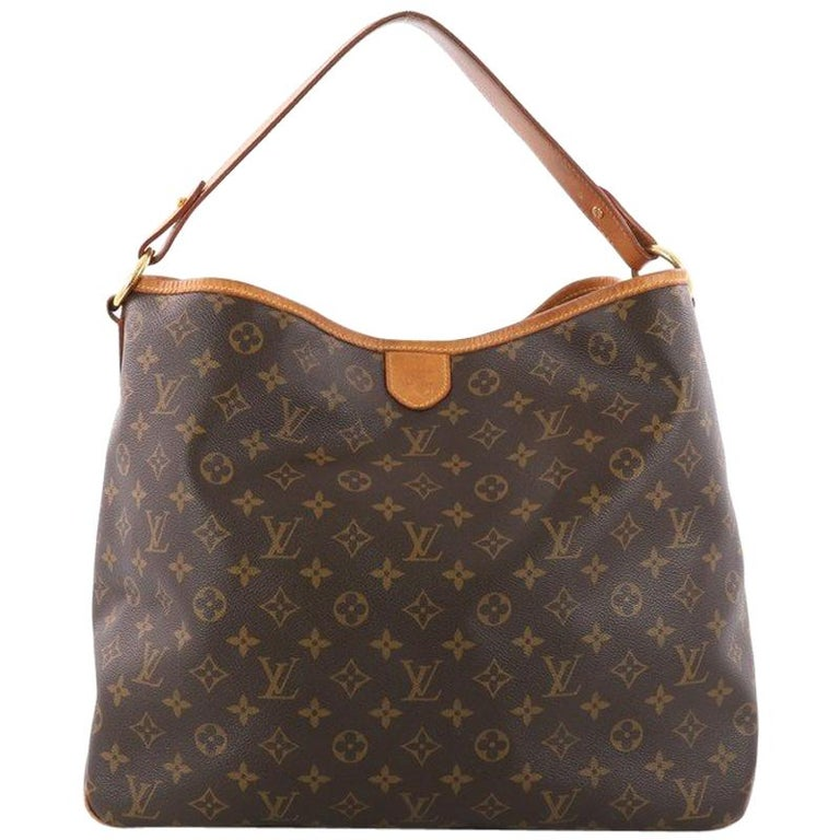 Louis Vuitton Delightful Handbag Monogram Canvas MM at 1stdibs 01eec64e03a2e