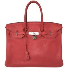 Hermes Birkin 35 Bouganvillea Pink