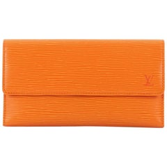 Louis Vuitton Porte Tresor International Wallet Epi Leather