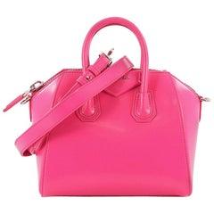 Givenchy Antigona Bag Glazed Leather Minii