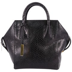 Stella McCartney Cavendish Boston Bag Faux Python Mini