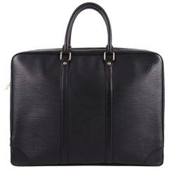 Louis Vuitton Porte-Documents Voyage Briefcase Epi Leather