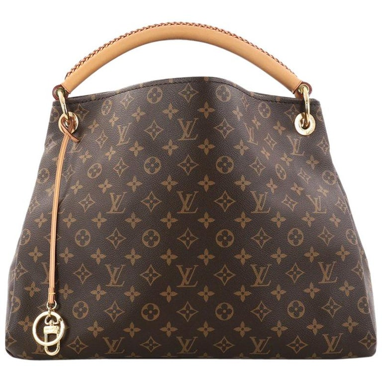 2a58ada6a62f Louis Vuitton Artsy Handbag Monogram Canvas Mm At 1stdibs