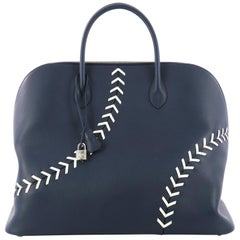 Hermes Baseball Bolide Handbag Evercolor 45