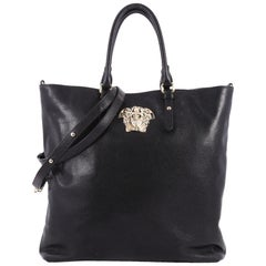 Versace Palazzo Medusa Gramercy Tote Leather North South