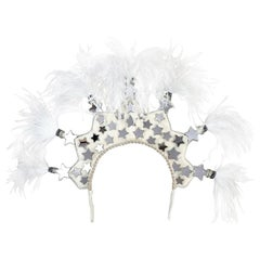"Magnetic Midnight for Shrimpton Couture ""Starlet"" Headpiece"