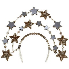 "Magnetic Midnight for Shrimpton Couture ""Stardust"" Headpiece"