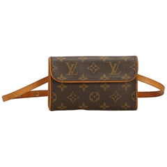 Louis Vuitton Brown Monogram Florentine Pochette