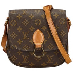 Louis Vuitton Brown Monogram Saint Cloud MM