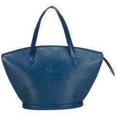 Louis Vuitton Blue Epi Saint Jacques Long Strap GM