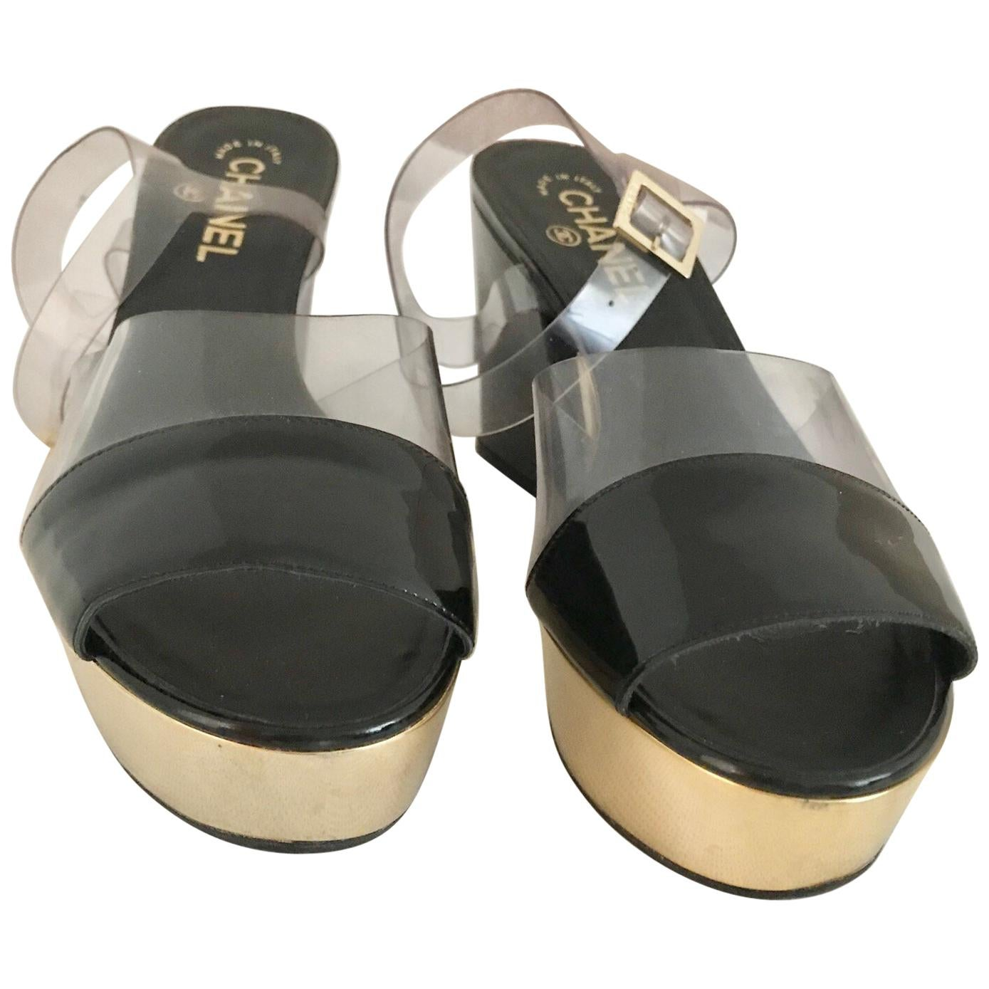 e40bab866eee Vintage Chanel Shoes - 129 For Sale at 1stdibs
