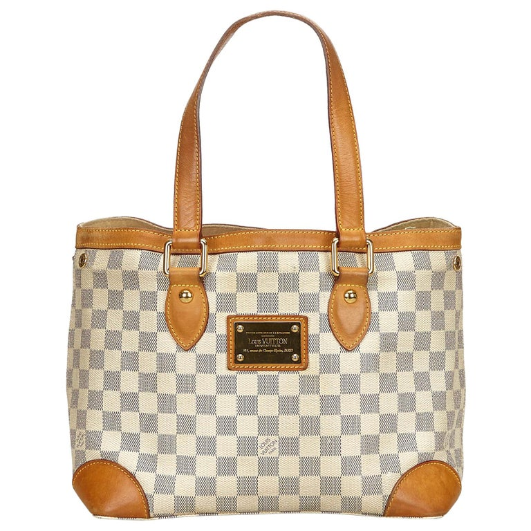 6b93a2738393 Louis Vuitton Damier Azur Hampstead PM For Sale at 1stdibs