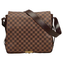 Louis Vuitton	Brown Damier Ebene Bastille Messenger Bag