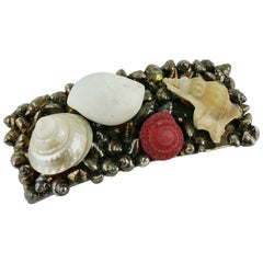 Chantal Thomass Vintage Sea Life Hair Barrette
