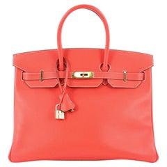 Hermes Candy Birkin Handbag Epsom 35
