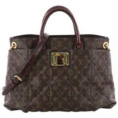 Louis Vuitton Limited Edition Exotique Handbag Monogram Etoile GM
