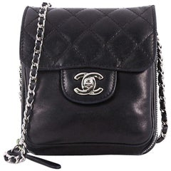 Chanel Wallet on Chain Flap Bag Quilted Lambskin Mini