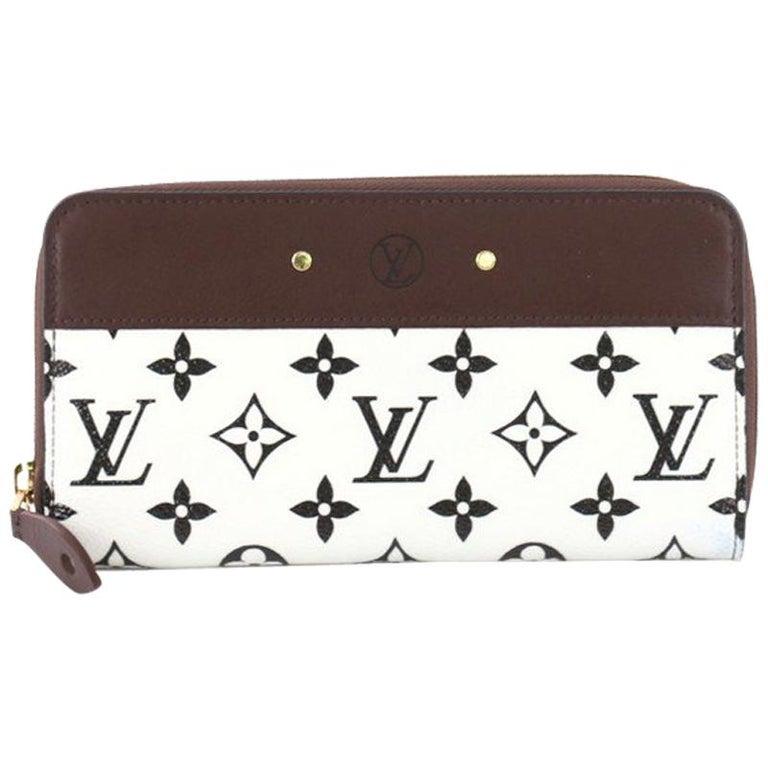 843af9939a757 Louis Vuitton Zippy Wallet Monogram Canvas with Leather