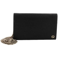 Gucci Betty Chain Wallet Leather