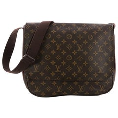 Louis Vuitton District Messenger Bag Macassar Monogram Canvas MM