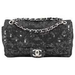 Chanel Hidden Sequins Flap Bag Sequins Medium
