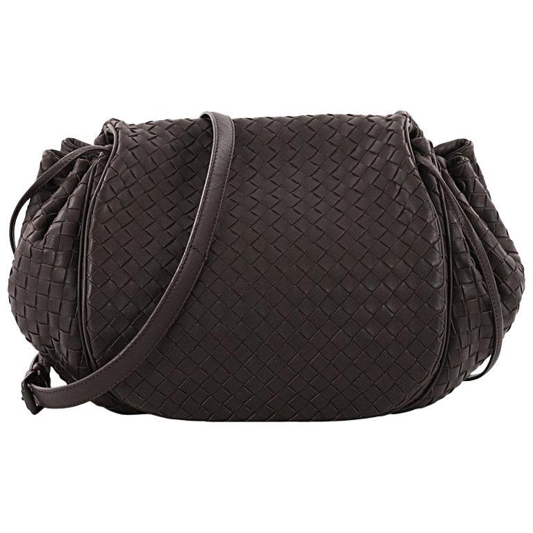 fa03145abf Bottega Veneta Flap Messenger Bag Intrecciato Nappa Medium at 1stdibs