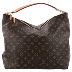 Louis Vuitton Sully Handbag Monogram Canvas MM
